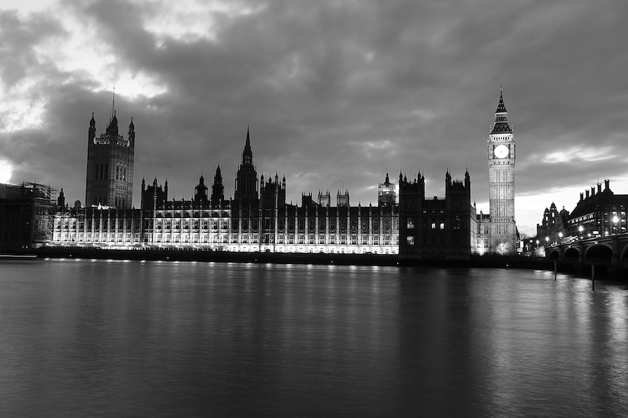 Londra in black and white