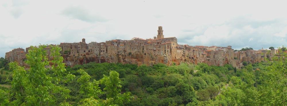 Panorama di Pitignano